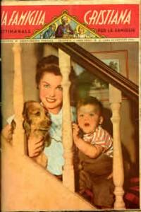 La copertina del il n.4 di Famiglia Cristiana del 25-01-1953
