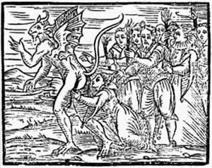 Illustrazione tratta da Compendium Maleficarumdi Francesco Mario Guazzo, 1608.
