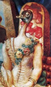 La sposa fedele, particolare Alberto Savinio, 1931