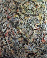 Occhi nel calore Jackson Pollock
