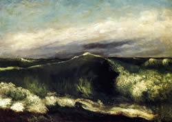L'onda - Gustave Courbet 1869